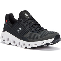 Shoes Men Low top trainers On Running Cloudswift Mens Black / Rock Trainers Black