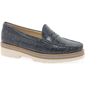 Shoes Women Loafers Charles Clinkard Cayenne 3 Womens Moccasins blue