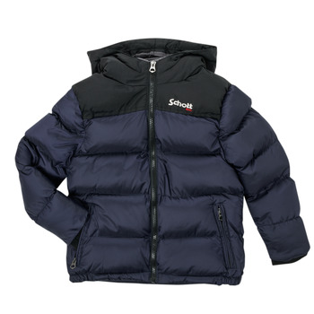 Clothing Children Duffel coats Schott UTAH 2 Marine