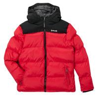 Clothing Children Duffel coats Schott UTAH 2 Red