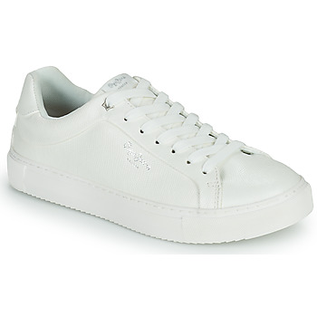 Shoes Women Low top trainers Pepe jeans ADAMS COLLINS White