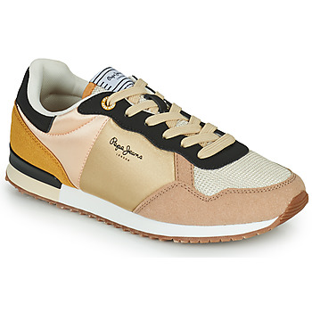 Shoes Women Low top trainers Pepe jeans ARCHIE LIGHT Beige