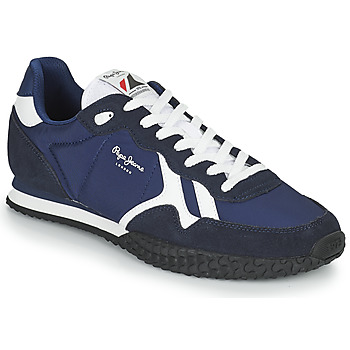Shoes Men Low top trainers Pepe jeans HOLLAND SERIE 1 Marine
