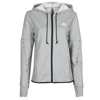 Clothing Women Track tops adidas Performance METRED Grey / Medium