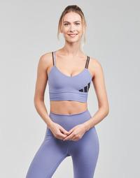 Clothing Women Sport bras adidas Performance AMEBAR Purple / Orbit