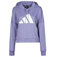 Clothing Women Sweaters adidas Performance WIFIEB HOODIE Purple / Orbit