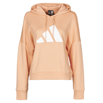 Clothing Women Sweaters adidas Performance WIFIEB HOODIE Blush / Ambient