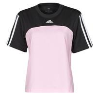 Clothing Women Short-sleeved t-shirts adidas Performance WECBT Black