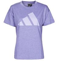 Clothing Women Short-sleeved t-shirts adidas Performance WEWINTEE Orbit / Purple