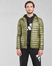 Clothing Men Duffel coats adidas Performance VARILITE JACKET Olive / Focus