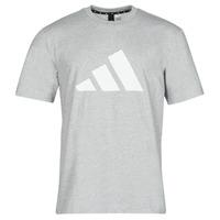 Clothing Men Short-sleeved t-shirts adidas Performance M FI 3B TEE Grey / Medium