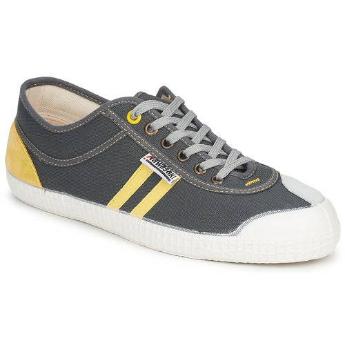 Shoes Low top trainers Kawasaki PLAYERS RETRO SP Grey / Yellow