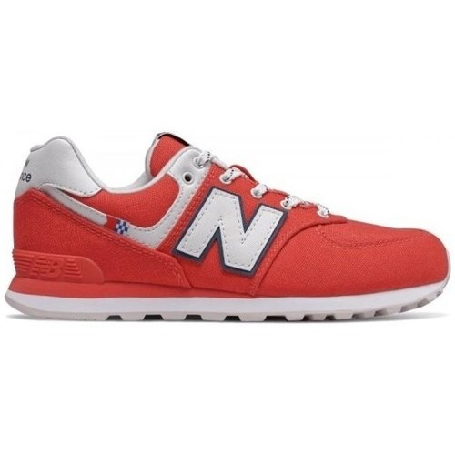 Shoes Children Low top trainers New Balance 574 Red