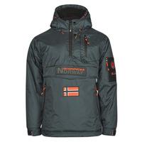 Clothing Men Parkas Geographical Norway BARKER Grey / Dark