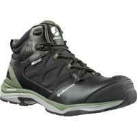 Shoes Men Mid boots Albatros 636220 Ultratrail Olive Ctx Mid Black and Olive