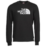 Clothing Men Sweaters The North Face DREW PEAK CREW Black / White