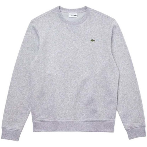 Clothing Men Track tops Lacoste Classic Sweat grey