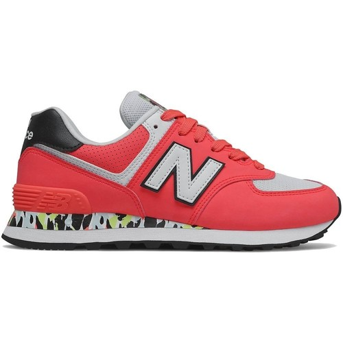 Shoes Women Low top trainers New Balance 574 Red