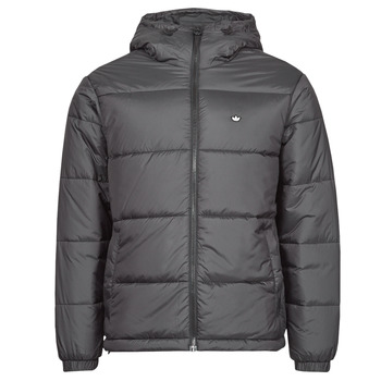 Clothing Men Duffel coats adidas Originals PAD HOODED PUFF Black
