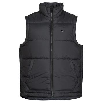 Clothing Men Duffel coats adidas Originals PADDED VEST Black