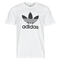 Clothing Men Short-sleeved t-shirts adidas Originals TREFOIL T-SHIRT White