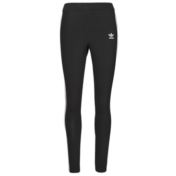 Clothing Women Leggings adidas Originals 3 STRIPES TIGHT Black