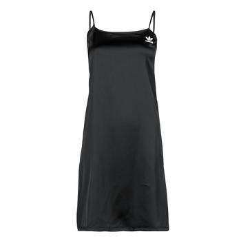 Clothing Women Short Dresses adidas Originals DRESS Black