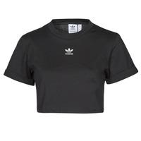 Clothing Women Short-sleeved t-shirts adidas Originals TEE Black