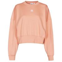 Clothing Women Sweaters adidas Originals SWEATSHIRT Blush / Ambient