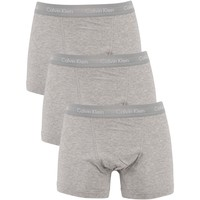 Underwear Men Boxer shorts Calvin Klein Jeans 3 Pack Trunks grey