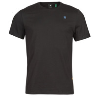 Clothing Men Short-sleeved t-shirts G-Star Raw BASE-S R T SS Black