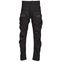 Clothing Men Cargo trousers G-Star Raw 3D STRAIGHT TAPERED CARGO Black