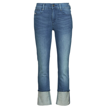 Clothing Women Straight jeans G-Star Raw NOXER STRAIGHT Blue