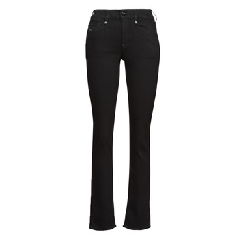 Clothing Women Straight jeans G-Star Raw NOXER STRAIGHT Black
