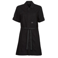Clothing Women Short Dresses G-Star Raw ARMY DRESS SHORT SLEEVE Black