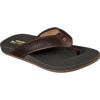 Shoes Men Flip flops Skechers 65093-CHOC-060 Pelem Emiro Chocolate