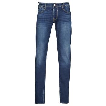 Clothing Men Slim jeans Le Temps des Cerises 712 JOGG Blue