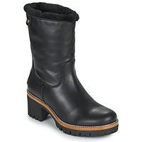Shoes Women Mid boots Panama Jack PIOLA Black