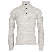 Clothing Men Jumpers Petrol Industries KNITWEAR COLLAR White