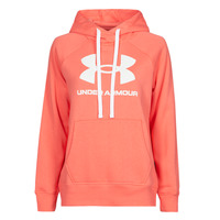 Clothing Women Sweaters Under Armour RIVAL FLEECE LOGO HOODIE Pink