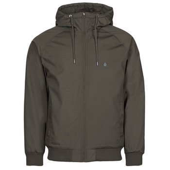 Clothing Men Jackets Volcom HERNAN 5K JACKET Kaki