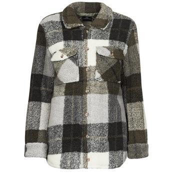 Clothing Women Jackets / Blazers Volcom SILENT SHERPA JACKET Black