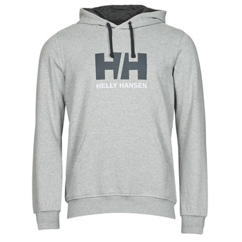 Clothing Men Sweaters Helly Hansen HH LOGO HOODIE Grey