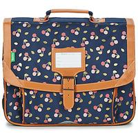 Bags Girl Satchels Tann's ALEXA CARTABLE 38 CM Marine