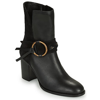 Shoes Women Ankle boots Kaporal PERCY Black