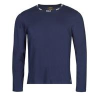 Clothing Men Long sleeved tee-shirts Polo Ralph Lauren CREEW SLEEP TOP Marine