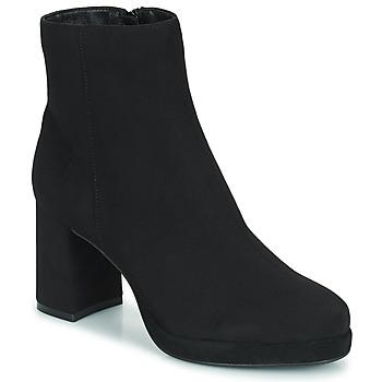 Shoes Women Ankle boots Moony Mood PORTUNA Black