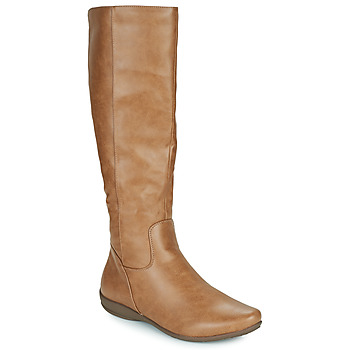 Shoes Women High boots Moony Mood PLERILA Camel