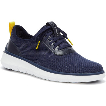 Shoes Men Low top trainers Cole Haan Generation ZeroGrand Stitchlite Mens Navy / White Navy