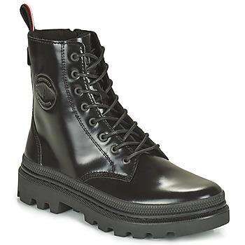 Shoes Mid boots Palladium PALLATROOPER Black